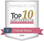 TopVerdict.com Top 10 Jury Verdicts - Personal Injury - United States 2019